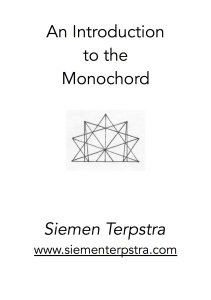 IntroductionMonochord titlepage