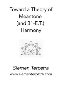 MeantoneTheory titlepage