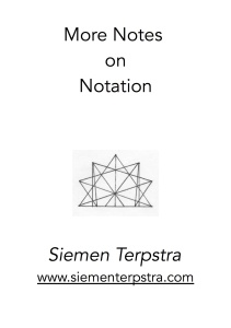 NotationNotes titlepage