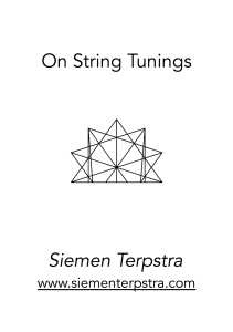 string tunings titlepage